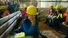 Klasa 2b,c i 3b na wycieczce w kopalni soli w Kłodawie